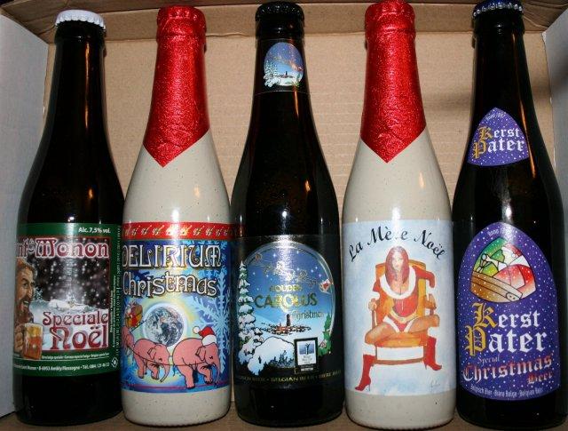 Christmas Belgium Beer