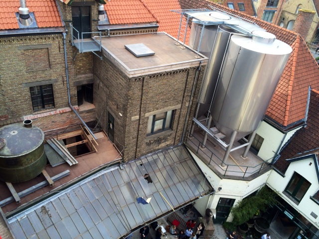 On top of the Brewery